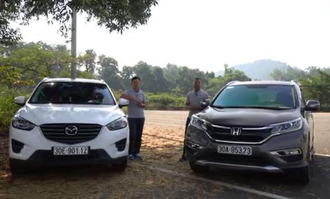 So sánh Honda CR-V 2.4L 2016 và Mazda CX-5 2.5L 2016