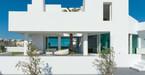 Cận cảnh biệt thự màu trắng mang phong cách Hy Lạp hiện đại