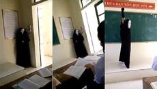 Quỷ Vô diện xuất hiện bất ngờ trong lớp học