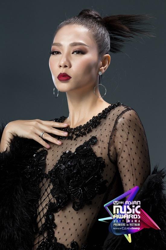 Thu Minh, Tóc Tiên đổ bộ sân khấu MAMA 2017
