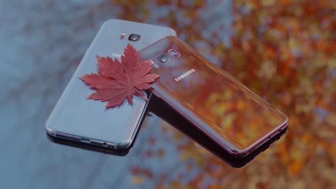 Galaxy S8 'sắc đỏ mùa thu' lên kệ vào tuần tới tại Hàn Quốc