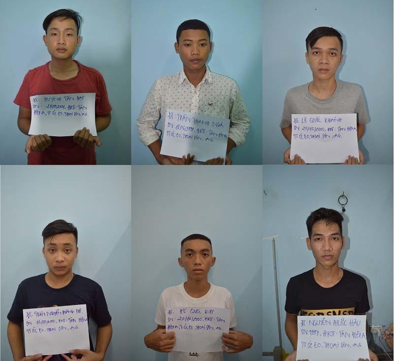 6 thanh niên hiếp dâm tập thể 2 bé gái rồi quay clip 'nóng