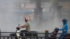 Cửa hàng xăng dầu Sài Gòn phát hỏa, nhiều người vứt xe tháo chạy