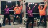 Mẹ và con gái cùng khiêu vũ vô cùng bốc bửa