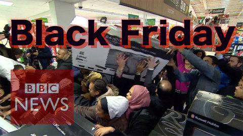 Cảnh kinh dị trong ngày Black Friday