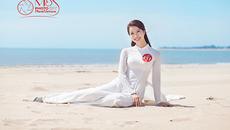 Thí sinh Miss Photo 2017 đẹp mê mẩn cùng áo dài trước biển