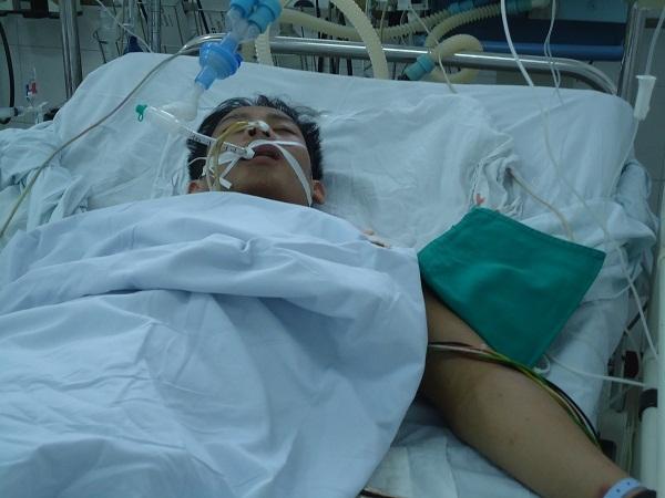 Em Nguyễn Minh Thành bị tai nạn giao thông đã được xuất viện