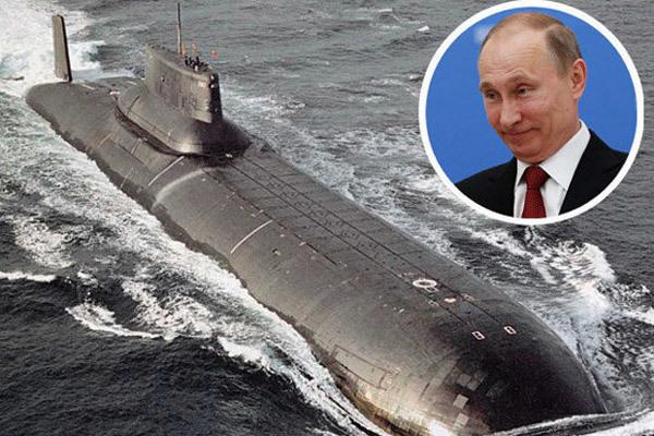 Lộ diện siêu tàu ngầm 'khủng' nhấtcủa Nga