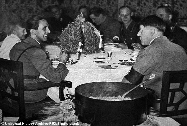 Tiết lộ về bữa ăn cuối cùng của Hitler