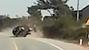 Ô tô mất lái, lật kinh hoàng tại khúc cua ở Hà Tĩnh
