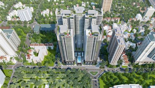 Dự án 'hot' trên đường Lê Văn Lương