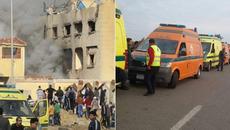 Đánh bom, nã súng máy ở Ai Cập, hàng trăm người chết