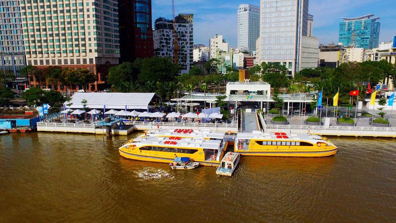 tuyến buýt sông số 1,sài gòn,bạch đằng,Linh Đông,miễn phí,buýt sông ở Sài Gòn,buýt sông