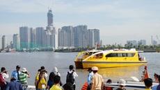 Buýt sông đầu tiên ở Sài Gòn chính thức khai trương