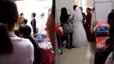 Đang đám cưới thì cô dâu đi đẻ, đẻ xong cưới tiếp
