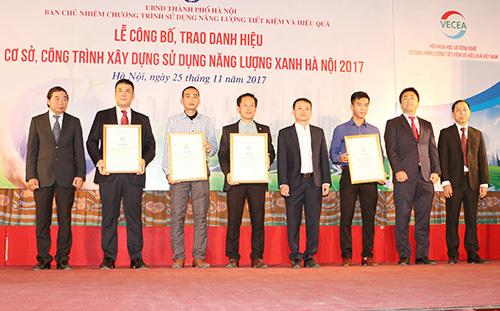 Roman Plaza nhận danh hiệu công trình sử dụng năng lượng xanh