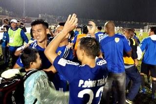 Video chiến thắng đưa Quảng Nam lên ngôi vô địch