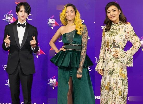 Thảm đỏ MAMA 2017: Tóc Tiên cá tính, Angela Phương Trinh như công chúa