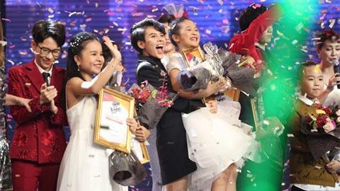 Ngọc Ánh đăng quang The Voice Kids 2017