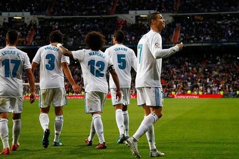 Real Madrid 3-2 Malaga