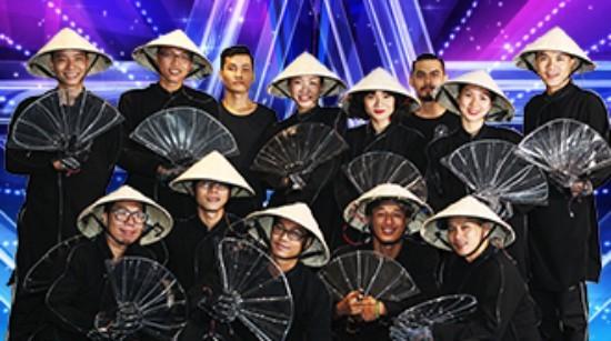 Bài biểu diễn tại bán kết của đại diện Việt Nam tại đêm bán kết Asia's Got Talent.