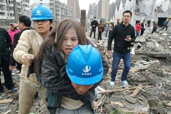 Nổ lớn gây thương vong, làm sập nhà ở Trung Quốc