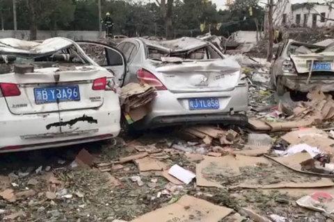 Nổ ở Trung Quốc