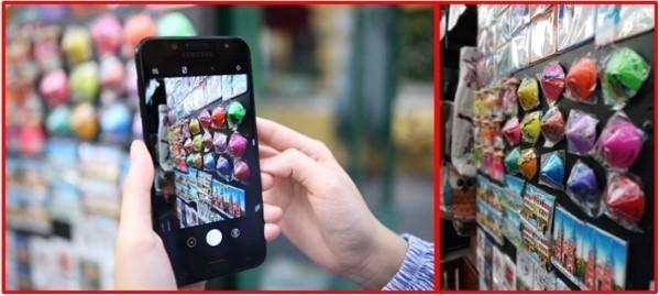 Đánh giá camera Galaxy J7+: Tốt từ sau ra trước