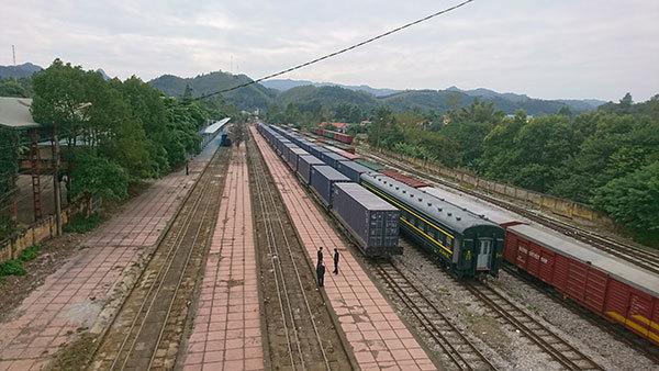 đường sắt,Việt Nam,Trung Quốc