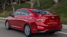 Hyundai Accent 2018 có giá từ 340 triệu đồng