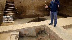 Phòng tắm xa hoa của hoàng đế nhà Tần