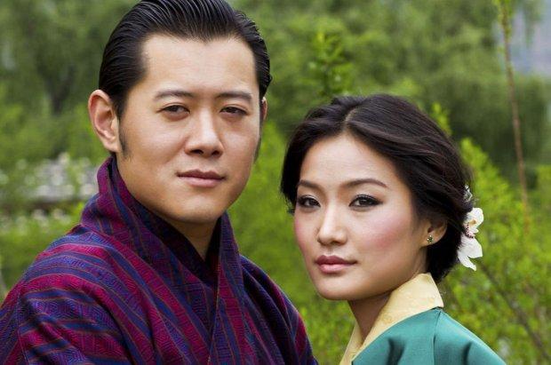 Bhutan,Hoàng gia,Hoàng hậu,Đức vua