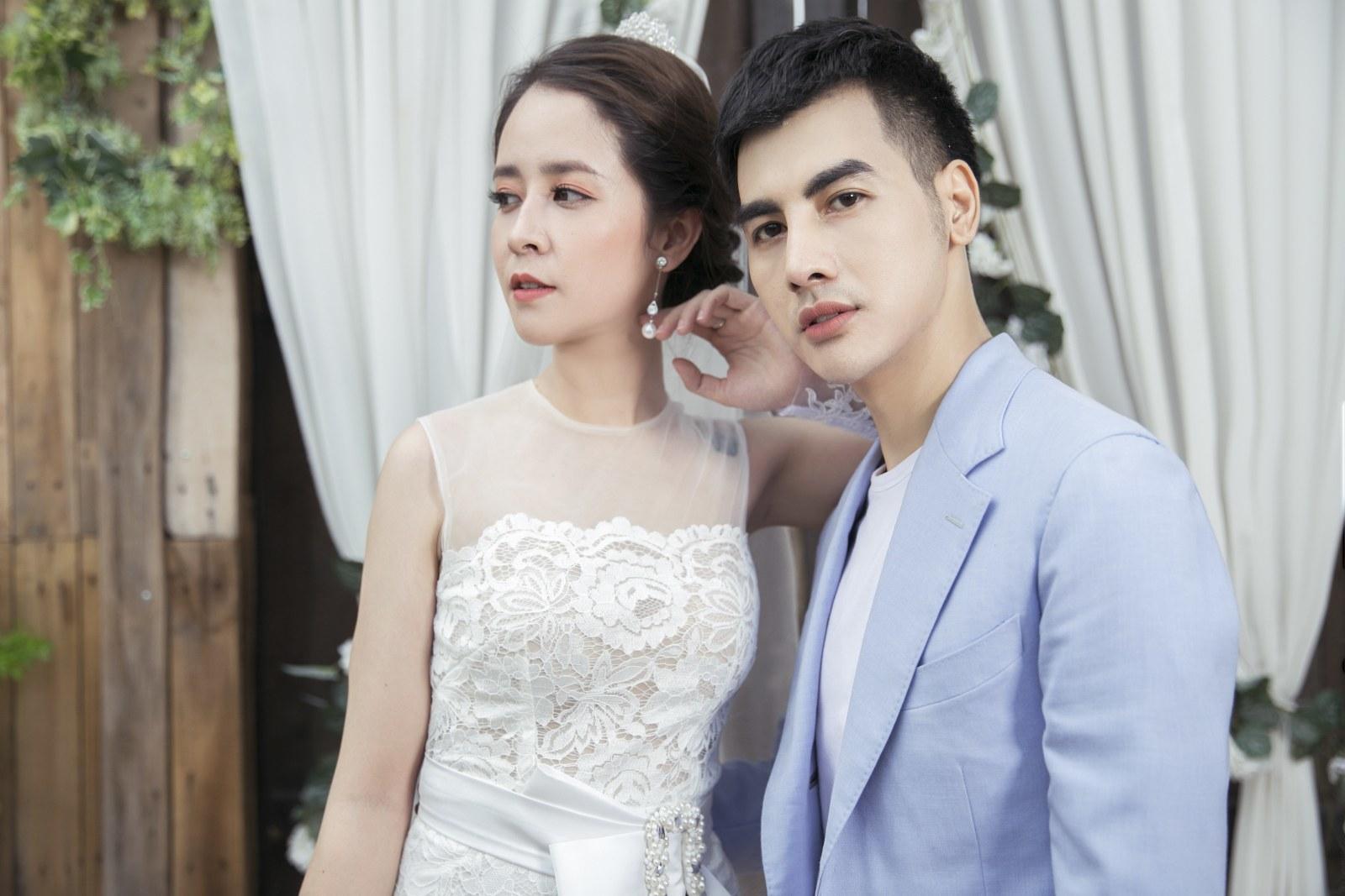 Diễn viên 'Người phán xử' hóa cô dâu xinh đẹp bên Cường Bely