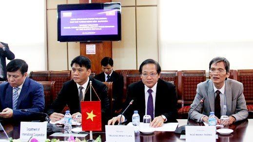 Slovakia sẽ hỗ trợ Việt Nam phát triển các giải pháp thông minh