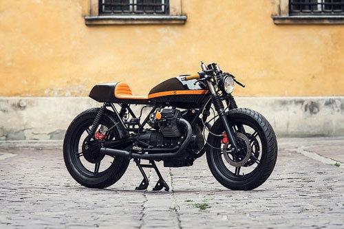 Xe độ Moto Guzzi V6 đầy ma thuật