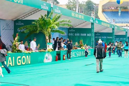 12.000 người dự Lễ hội Bia Sài Gòn