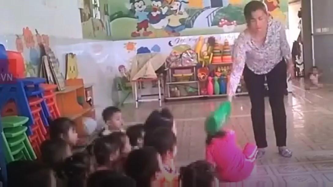 bạo hành trẻ em,bạo hành trẻ mầm non
