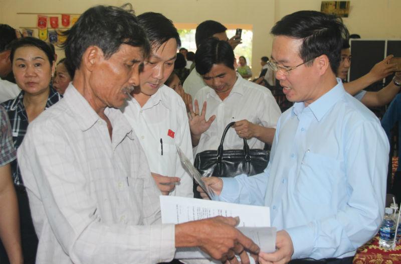 Ông Võ Văn Thưởng nói về dự án sân bay Long Thành