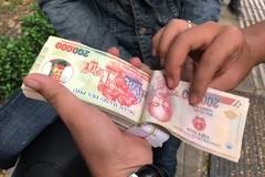 Hiệp sỹ săn bắt cướp bắt đối tượng lừa đảo bán tiền giả qua mạng
