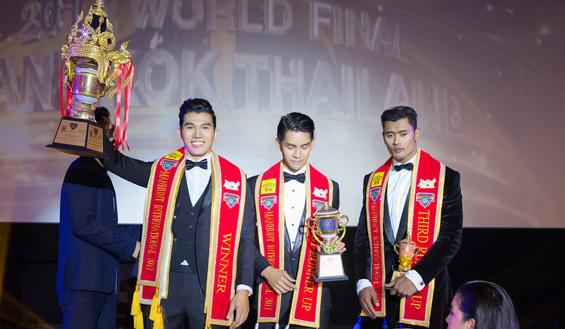 Ngọc Tình đăng quang Nam vương Quốc tế 2017