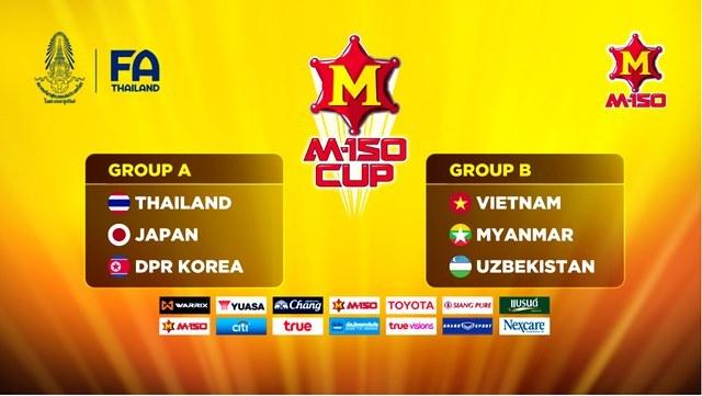 Lịch thi đấu của U23 Việt Nam ở giải M-150 Cup tại Thái Lan