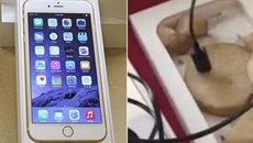 Mất 100 USD mua iPhone 6, nhận về khoai tây thái lát
