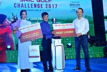 Golfer Nguyễn Mạnh Minh lên ngôi vô địch SMIC Golf Challenge 2017