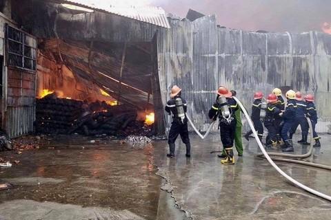 Cháy ở Thái Nguyên