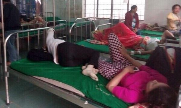 Ngộ độc thực phẩm,ăn đám cưới,Bệnh viện thị xã Buôn Hồ,Đắk Lắk