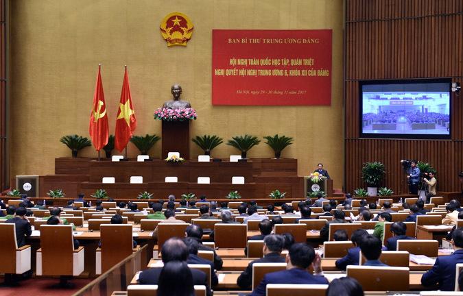 Trưởng ban Tổ chức TƯ,Phạm Minh Chính,tinh giản biên chế