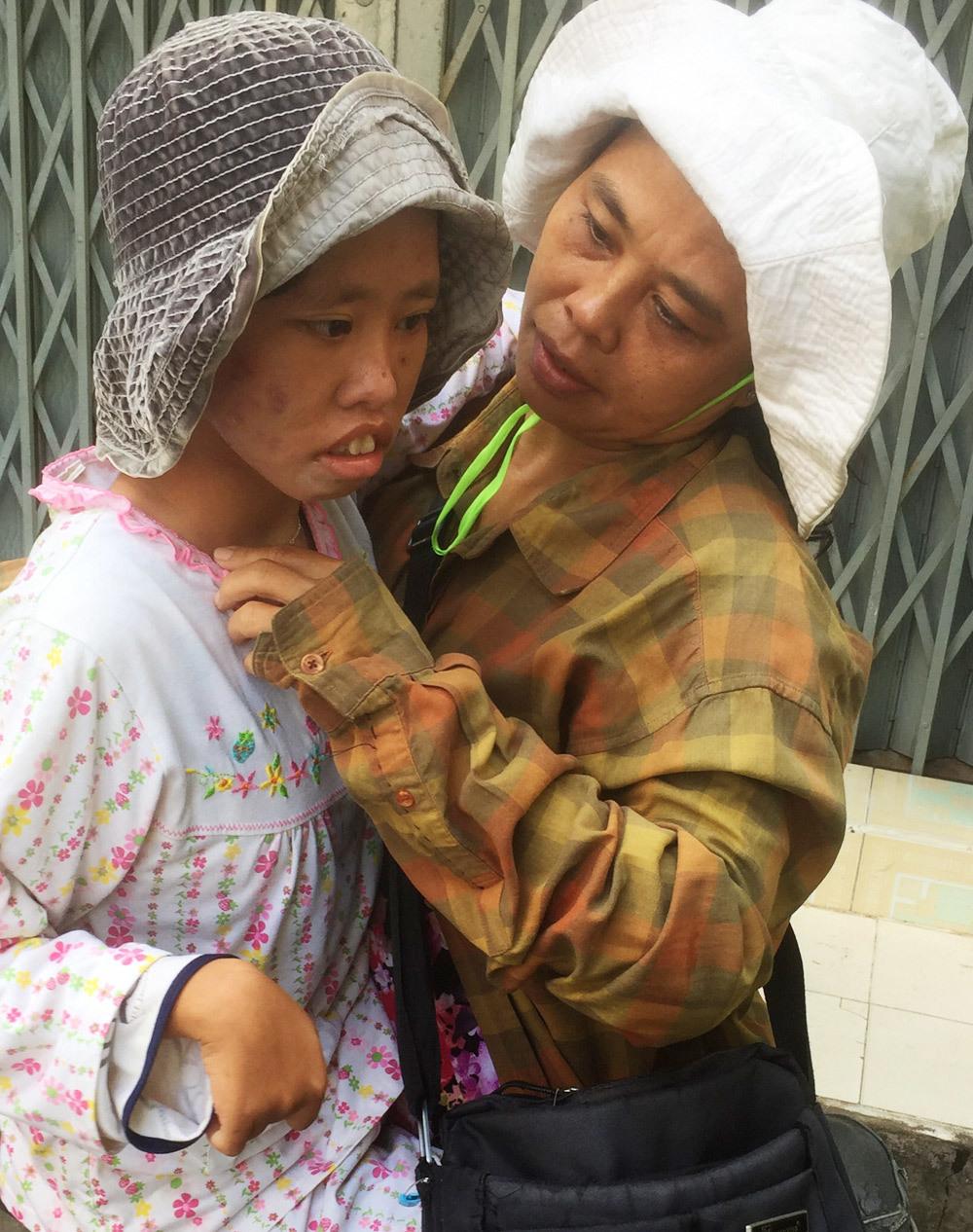 Tiên Đào và mẹ