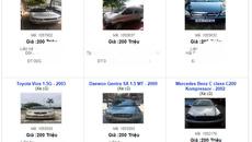 Ô tô cũ 100 triệu bán rao đầy vỉa hè: Dân buôn ế ẩm đợi tết