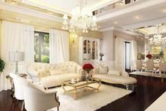 Muốn nhà thêm đẹp và sang, nhất định phải sắm những kiểu đèn chùm phòng khách này