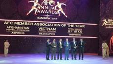 VFF nhận giải Liên đoàn phát triển của bóng đá châu Á